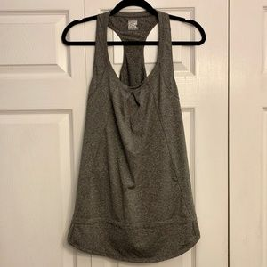 32 DEGREES cool gray racerback tank top